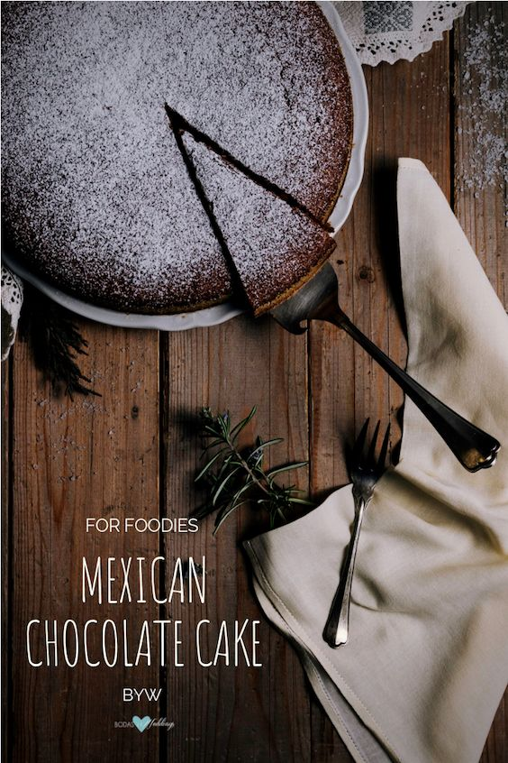 Mexican chocolate cake. It's all in the flavors! Photo: Henry Be/BYW.