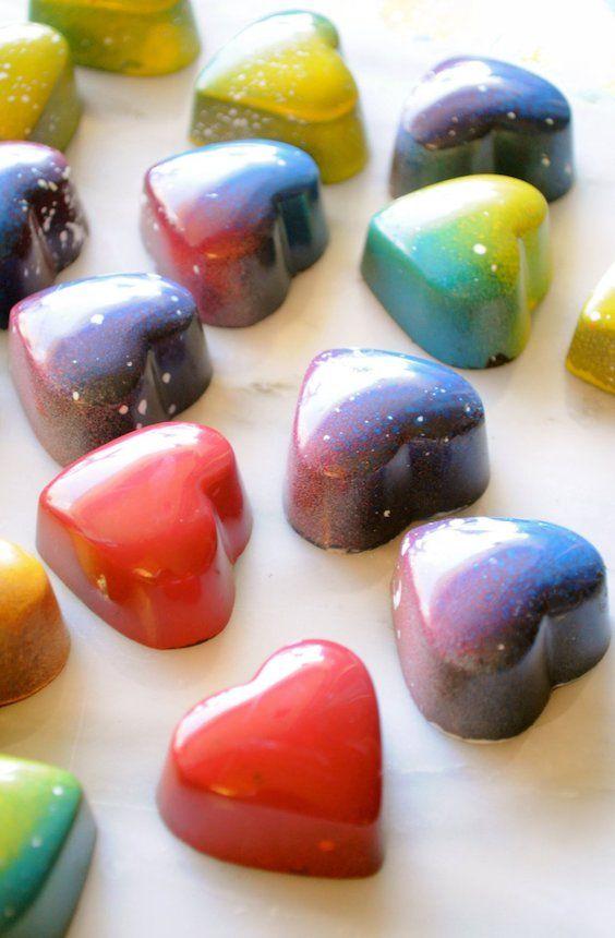 Original Valentine's day gift ideas for him: artisan chocolate truffle box.
