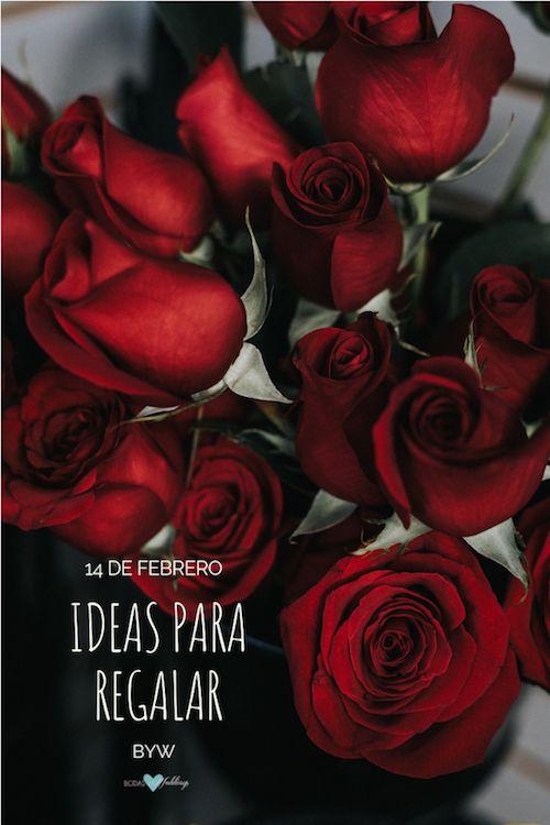 Las rosas son uno de los regalos más tradicionales en San Valentín. ¿Quieres ver más ideas para regalarle a tu novia el 14 de febrero?