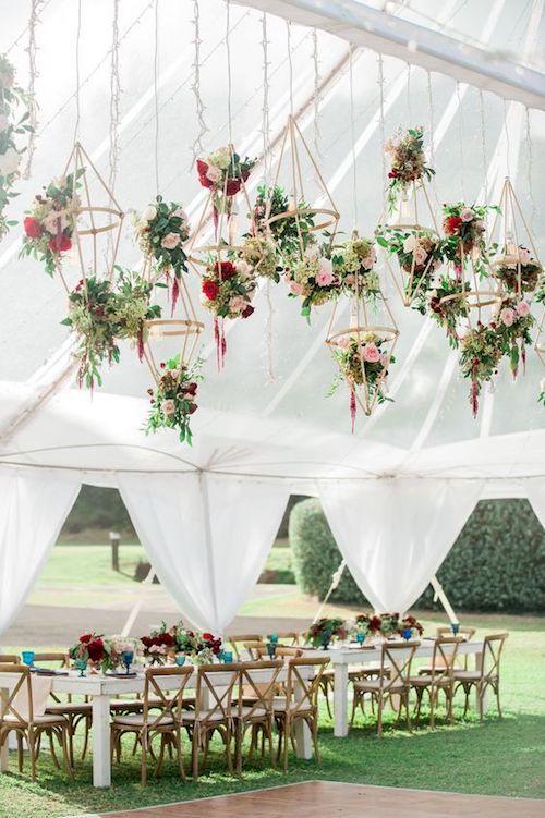 Magnífica decoración para una boda destino en Hawaii, organizada por Moana Events.
