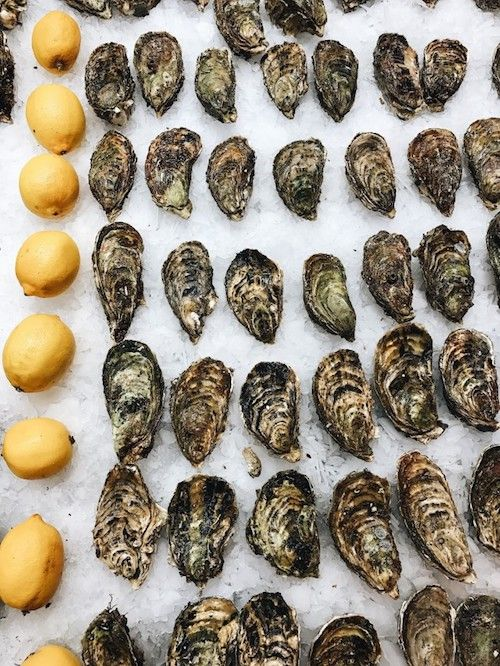 Take your grazing stations to the next level with fresh shellfish.