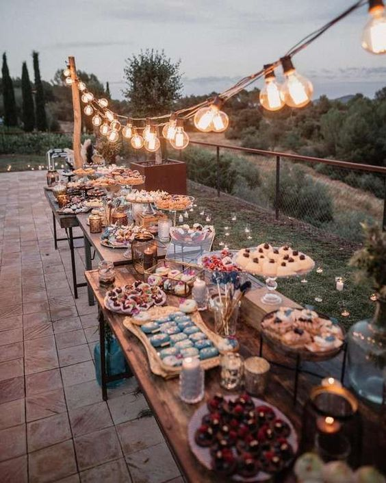 Wedding Reception Food Table Ideas: How To Setup A Charcuterie Board For Your Wedding: A