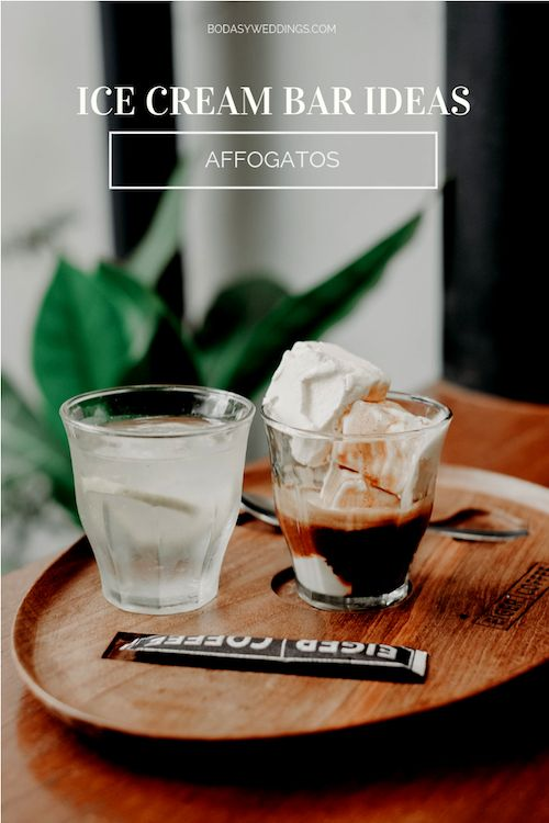 Uber original ice cream bar ideas: offer affogatos. Photo: BYW