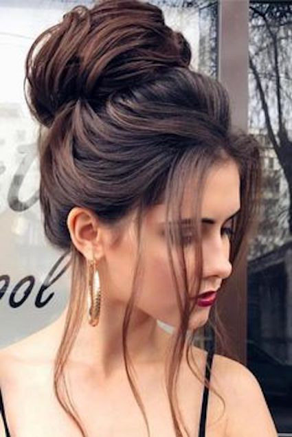 9ab12e4b3d436 Nothing like a chignon to make you feel special. Wedding hairstyles you will  want to