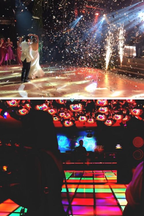 Choreograph a dance with lights to match and impress your guests.
