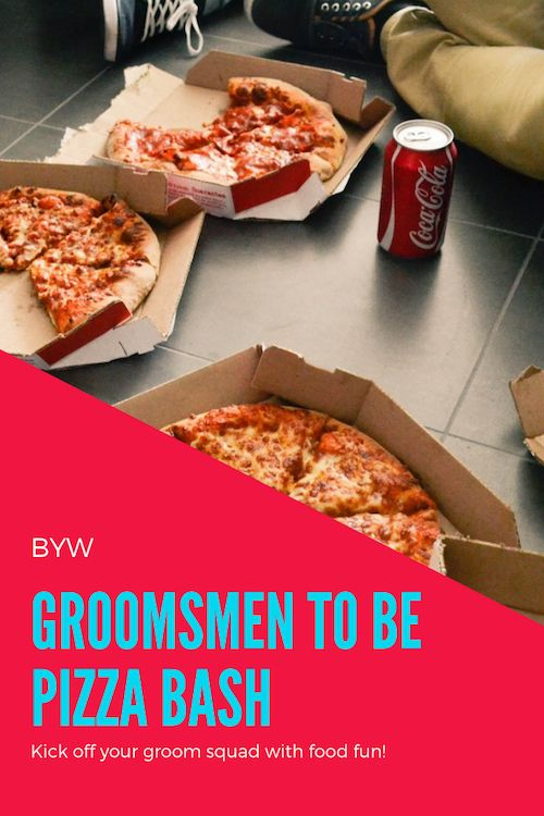Wondering how to ask your groomsmen to be at your wedding? Over pizza, sure and what else? Follow this guide and ask in style.