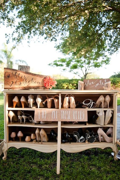And also help them place their own shoes somewhere where they can find them later. Sarah and Ben Photography.