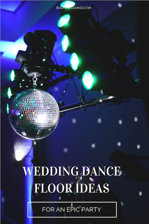 Nothing like stroboscopic lights and special lighting effects to get people dancing the night away.