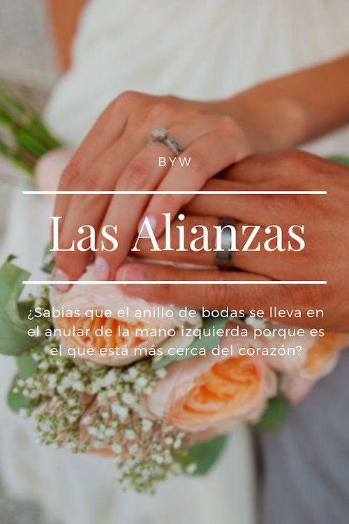 ¿Sabías que el anillo de bodas se lleva en el anular de la mano izquierda porque es el que está mas cerca del corazón? Foto: BYW.
