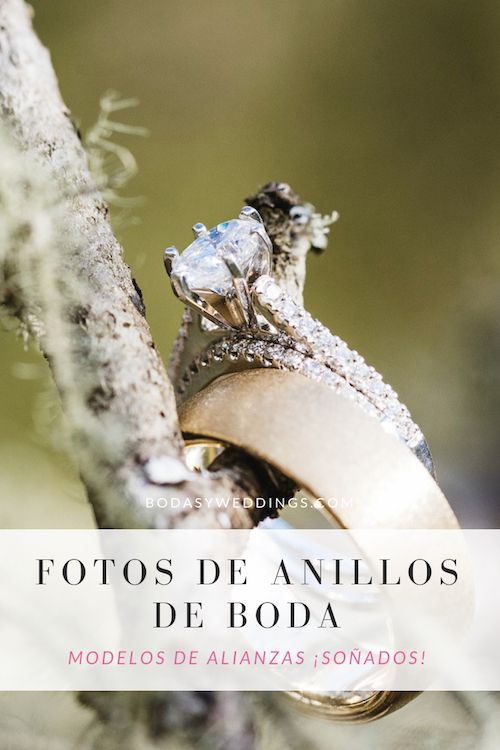 La tendencia nos muestra que no hay necesidad de coordinar el look del anillo de compromiso con tu argolla de matrimonio.